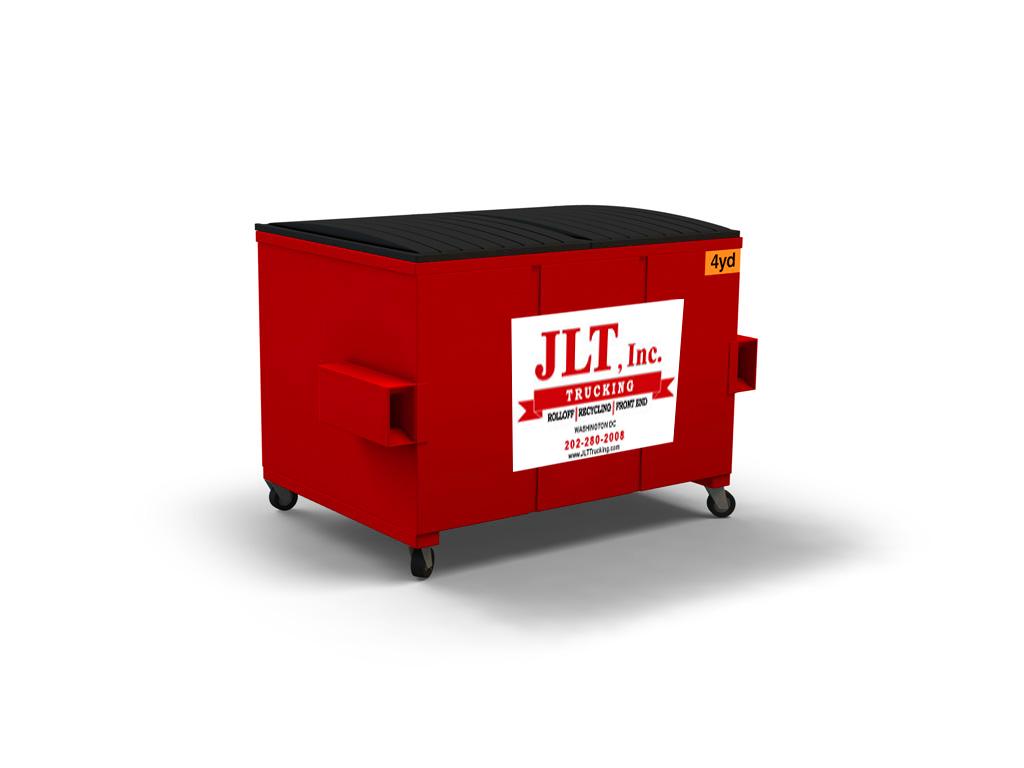 waste services; 4 yard front load bin